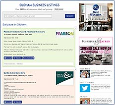 Premium Listing on Oldham Business