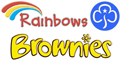 St Margaret & St Chad 60th Oldham Rainbows & Brownies Logo