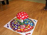 Our Restored Toadstool with Rainbow Roundabout