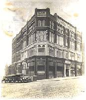 The Chronicle's Union Street building as it was in 1923