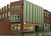 The Oldham Evening Chronicle building in Union Street.