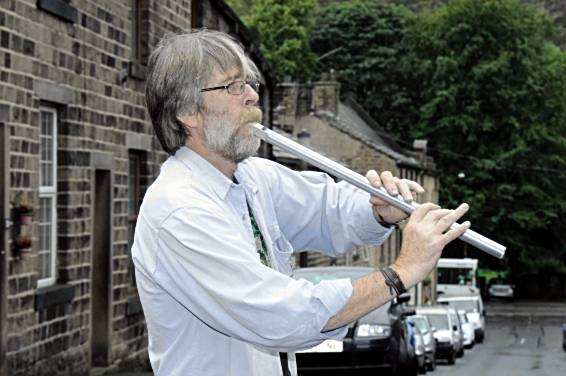 Folk festival: John Courtman's Whistle Workshop at the civic hall