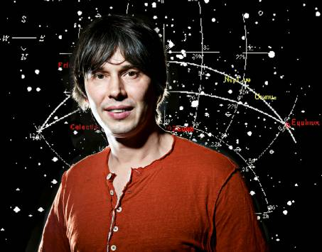THE wonders of the galaxy... Prof Brian Cox. Picture courtesy BBC