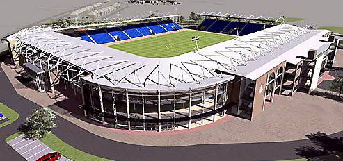 A STEP closer . . . how the new stadium could look
