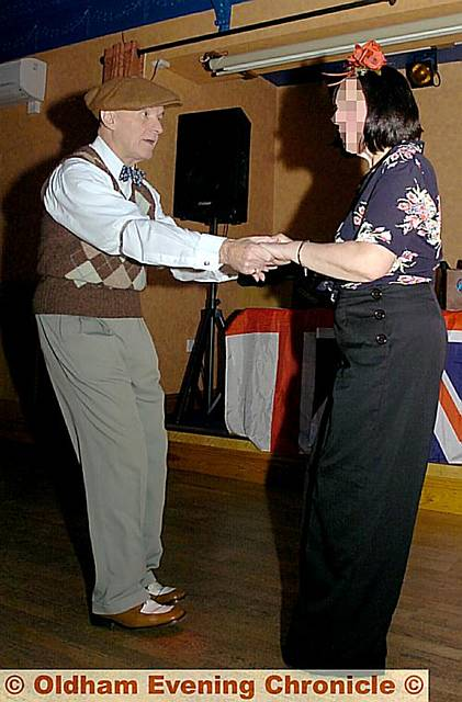 THE Forties enthusiast shows off his moves for the Chronicle in 2008