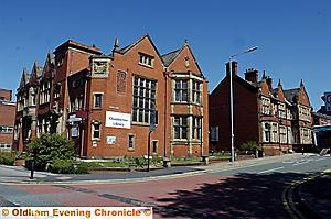 SOLD: Chadderton Library (foreground)