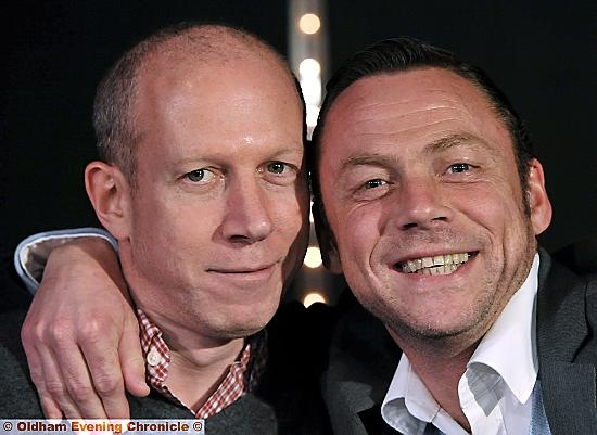 SIMON Corney and Paul Dickov