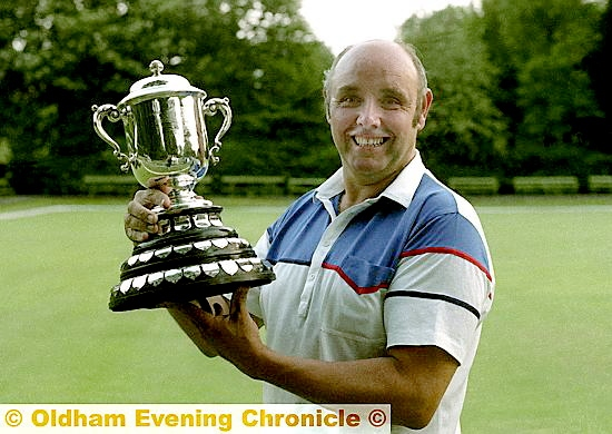 GLORY DAYS: Jack Ashton wins the Green Final Handicap in 1990.