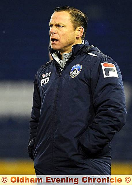 Paul Dickov - tough choices