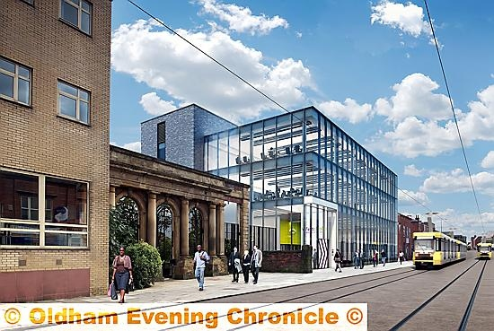 ARTIST�S impression of the new FCHO HQ