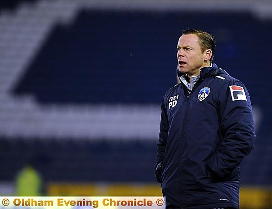 DICKOV: players need to have a �right good go� at the opposition