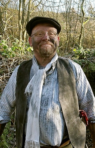 OLD stomping ground: ex-miner and local mining expert, Gary Brain, volunteering his time on the project