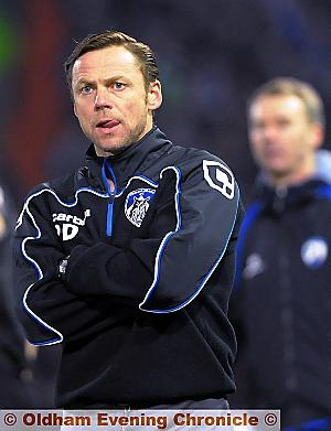 ATHLETIC boss Paul Dickov says playing at Bramall Lane tomorrow can lift his side.