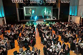 THE Queen Elizabeth Hall decked out for the big occasion – the One Oldham Business Awards ceremony