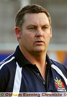 COACH Tony Benson — happy with Rhinos-Roughyeds link
