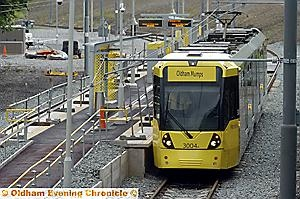 FINAL testing, the first trams are scheduled to start carrying passengers on Wednesday