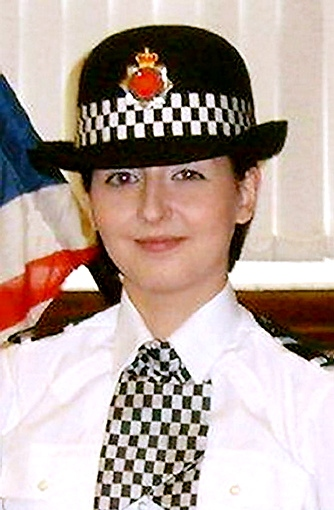 PC Nicola Hughes . . . Saddleworth community has been shaken by her death