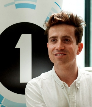 "NICK GRIMSHAW . . . ""desperate to get on with it"""