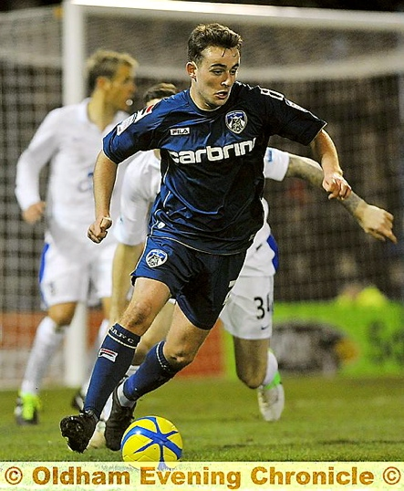 JOSE BAXTER . . . in line for recall after being handed a rest midweek