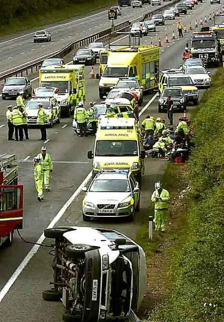 Oldham News News Headlines Minibus Flip Oldham Man On
