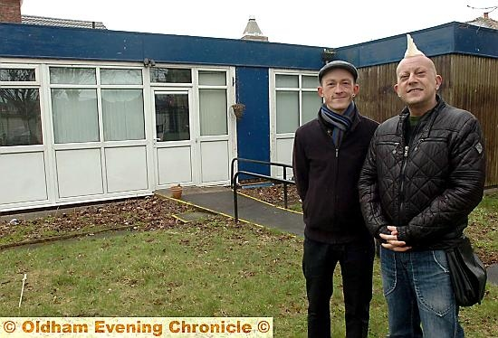 New Arts Hub planned in the former Citizens Advice Bureau in Failsworth. Co-directors Jason Bromley (left) and Paul Burgess.