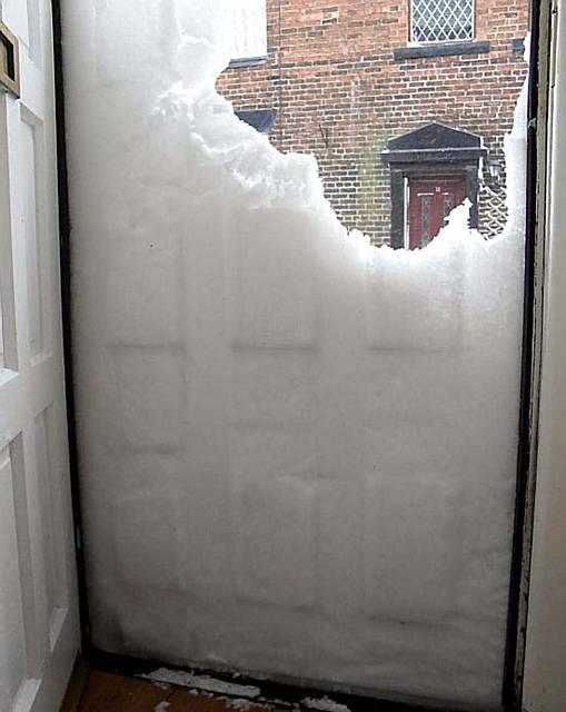 Oldham News News Headlines Wall Of Snow Comes Knocking