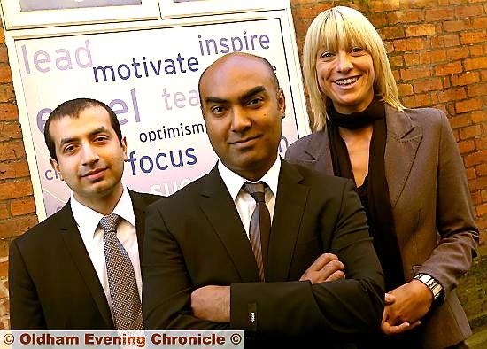 Upturn Enterprise: Naeem Jawaid, Anwar Ali and Maria Williams.<br />