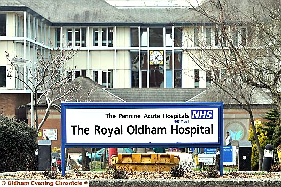 ON the plus side: the Royal Oldham Hospital received positive scores