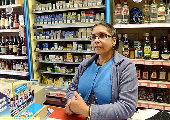 Padma Bhana: defended her family store