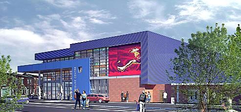 AN artist�s impression of the new Royton centre