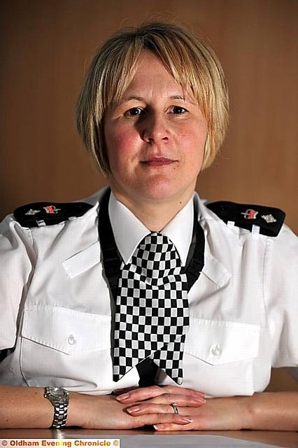 Chief Supt Catherine Hankinson