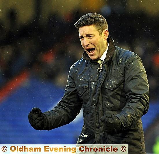 Lee Johnson: more urge in the squad