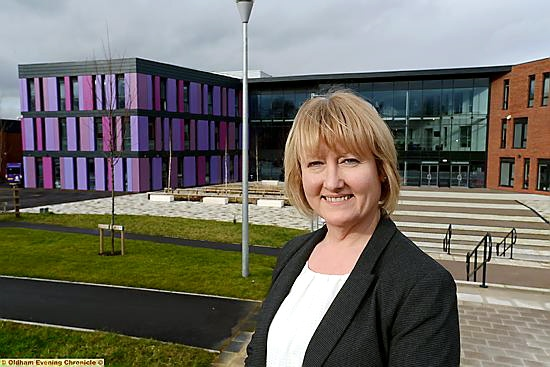 "Oldham Academy North principal Colette Burgess: ""we will continue our journey towards outstanding"""