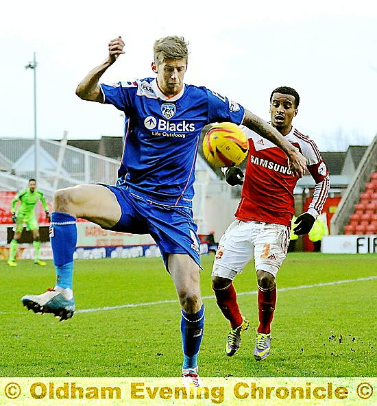 COMMITTED TO THE CAUSE: Jon Stead