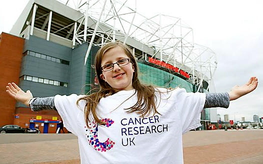 Kelsey Shyne-Slater outside The Theatre of Dreams