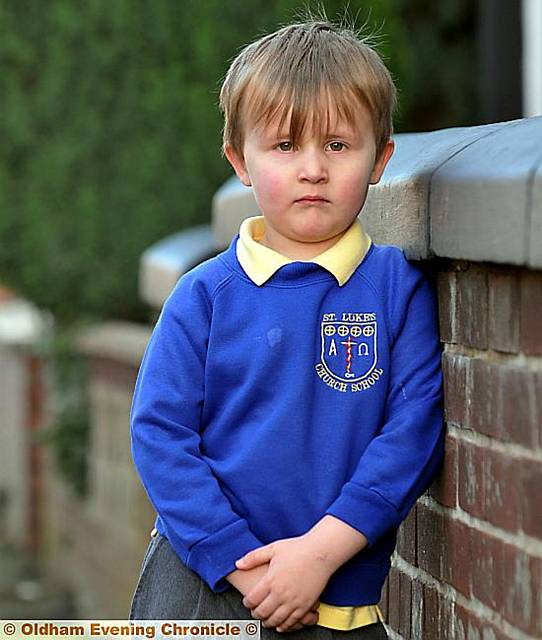 Jack Shedlock (4) has been classified overweight.