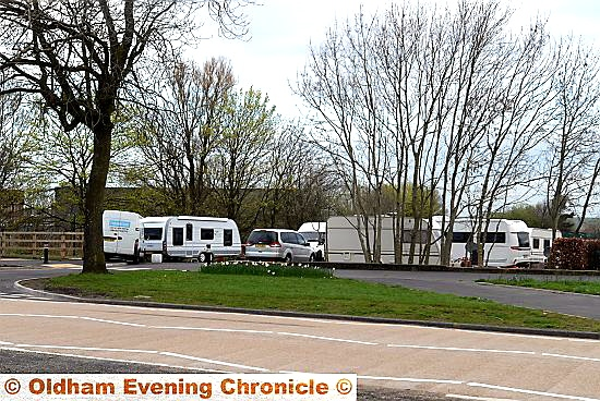 ORDERED off. . . the travellers camp on land at Broadway, opposite St Anne�s School