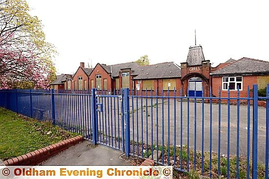 North Chadderton School's Broadway site - one of several redundant schools
