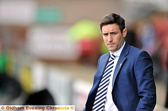 LEE JOHNSON: waiting game