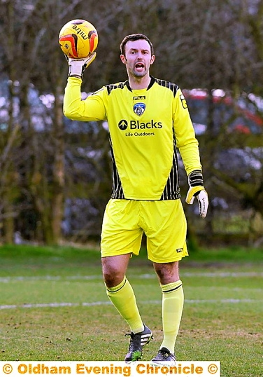 PAUL Rachubka made an excellent impression when he replaced Mark Oxley in goal. 