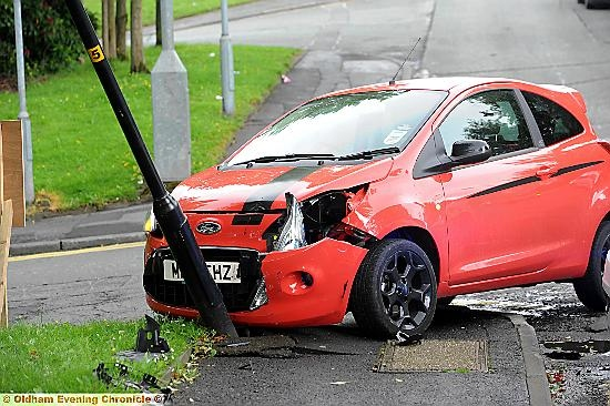 Ford Ka Ninth Accident At The Junction In Around A Year