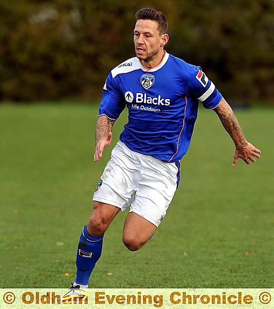 RUN FOR HOME: Charlie MacDonald has headed back to London after his contract with Oldham was not extended.