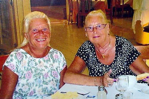 BEST friends . . . May Stockley (right) with daughter Susan