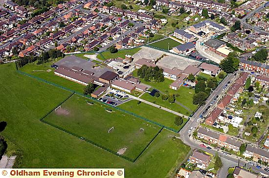 RESIDENTIAL concerns . . . the site of the proposed Yew Tree Community School 4G pitch