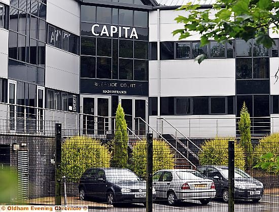 JOB worries . . . the company's Delph premises