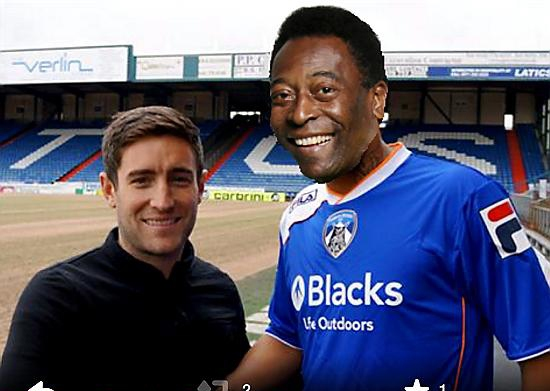 Could Pele visit Latics?
