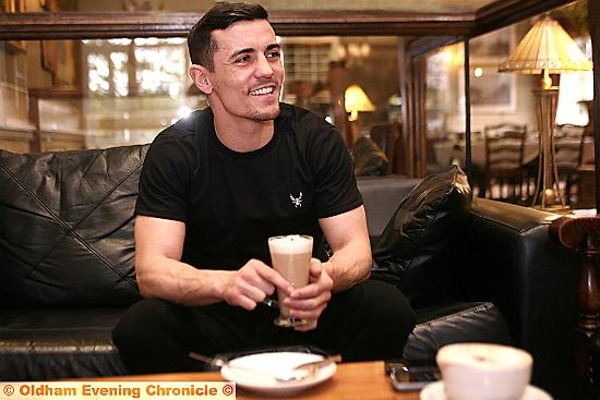 EAGER to return to the ring: Anthony Crolla.