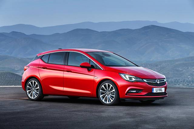 A real contender - the Mk7 Vauxhall Astra
