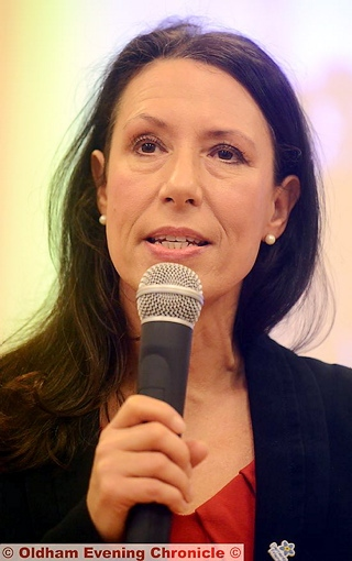 Debbie Abrahams - taking a lead against the reforms