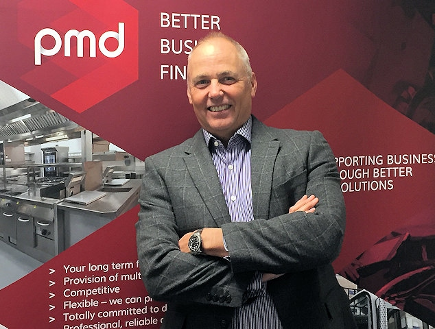 Peter Dobson, managing director at PMD